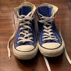 Converse high tops size 9
